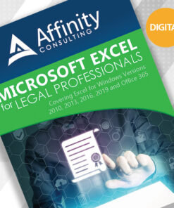 Microsoft Excel for Legal Professionals