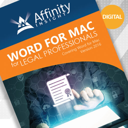 Word for MAC Manual Cover